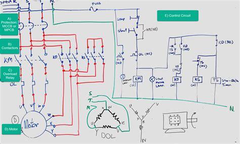 Star Delta Circuit Diagram Electricneutron
