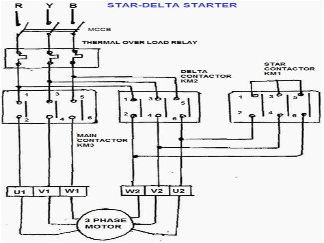 Star Delta Motor Starter EEP Electrical Engineering Portal
