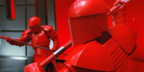 Star Wars 8 Toy Reveals Snoke Guards Porgs Screen Rant