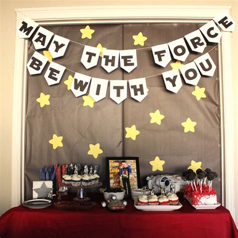 Star Wars Birthday Party Ideas and Printables