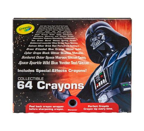 Star Wars Darth Vader crayola