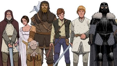 Star Wars Goes Medieval in This Clever Art Print io9