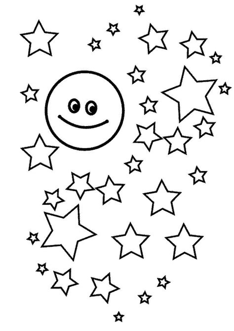 Stars coloring pages Free Coloring Pages