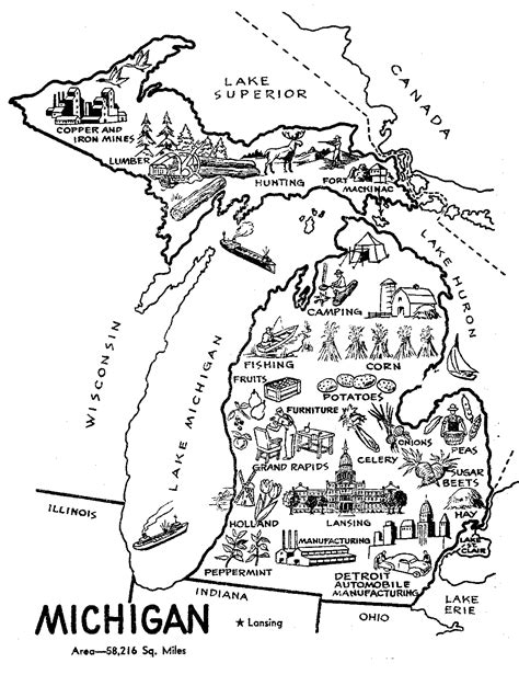State Coloring Pages Apples4theteacher