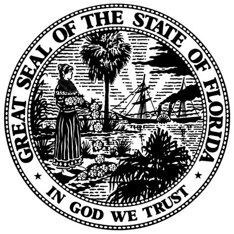 State Seal Florida Department of State