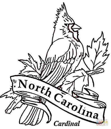 State of North Carolina Coloring Page Sheets USA Printables