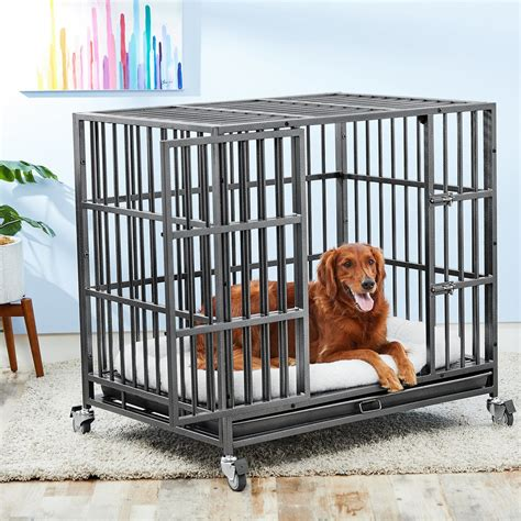 Steel Dog Crates Strongest Heavy Duty Steel Dog Crates