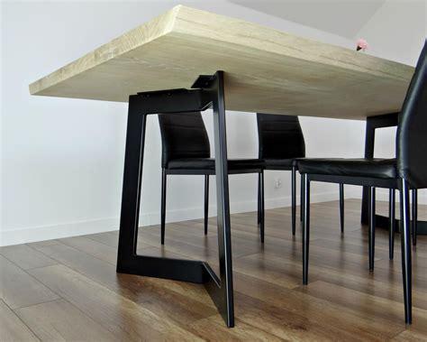 Steel Leg Dining Table Houzz