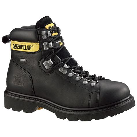 Steel Toe Work Boots For Men Steel Toe Shoes CAT Footwear