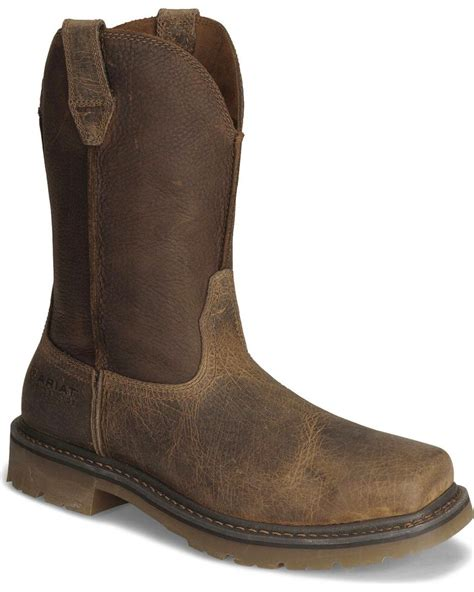 Steel Toe Work Boots Men s Safety Boots Ariat
