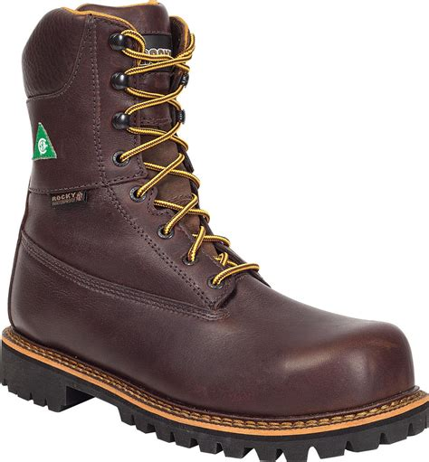 Steel Toe Work Boots Rocky Steeltoe Boots