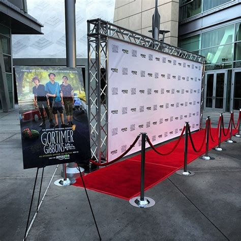 Step Repeat Banner Stand Red Carpet