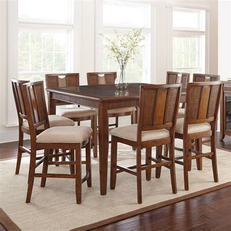 Steve Silver Melody Square Counter Height Dining Table