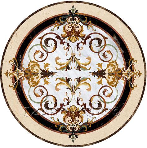 Stone Floor Medallions Czar Floors