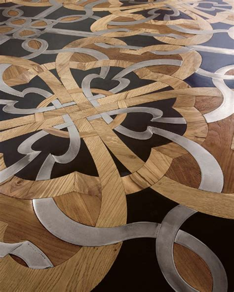 Stone and wood combination floor Home Designs Project