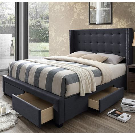 Storage Bed Frames Walmart