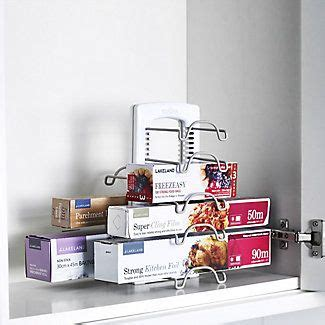 StoreMore WrapStand in kitchen units cupboards and