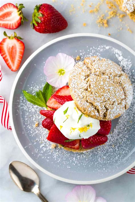 Strawberry Shortcake Recipe with Whipped Cream Jessica Gavin