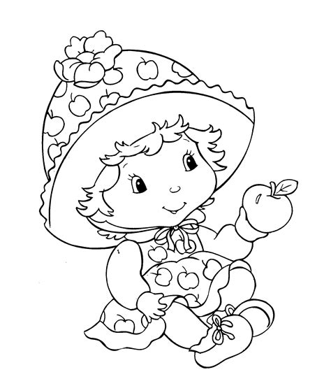 Strawberry Shortcake coloring pages Free Coloring Pages