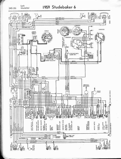 Studebaker Wiring Diagrams