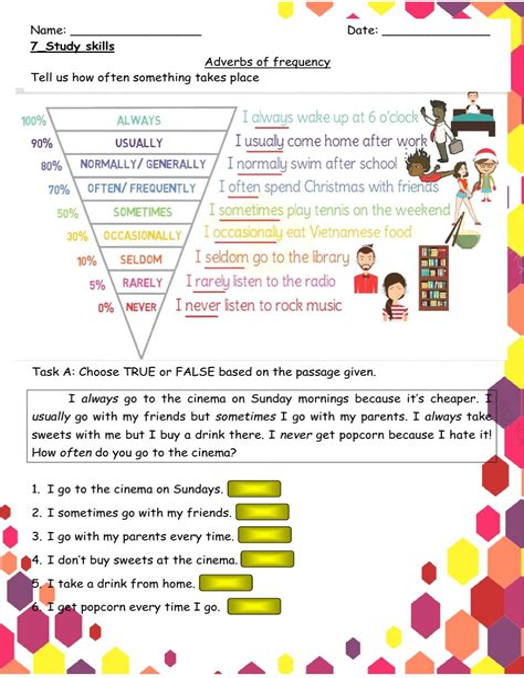 Study Skills Worksheets - Worksheets