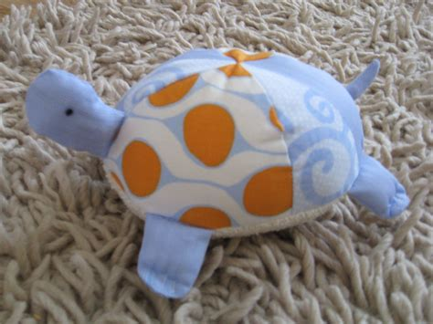 Stuffed Fabric Turtles with pattern pieces Make It and