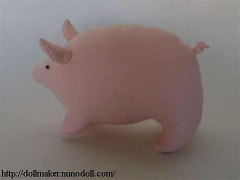 Stuffed Pig How to make dollmaker nunodoll