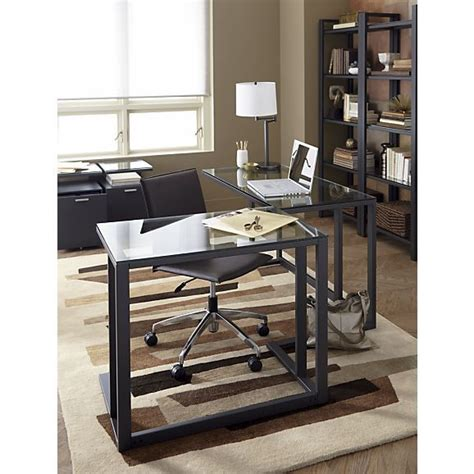 Stylish Sophisticated Modern Desks Crate and Barrel
