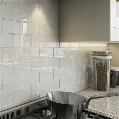 Subway Tile Flooring The Home Depot