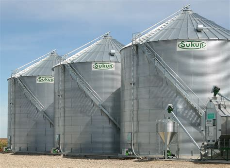Sukup Manufacturing Co Grain Storage and Grain Drying