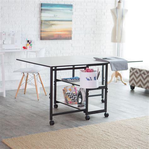 Sullivans Adjustable Home Hobby Table Hayneedle