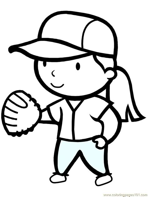 Summer Sports Coloring Pages