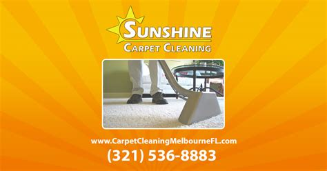 Sunshine Carpet Cleaning Melbourne Viera and Palm Bay