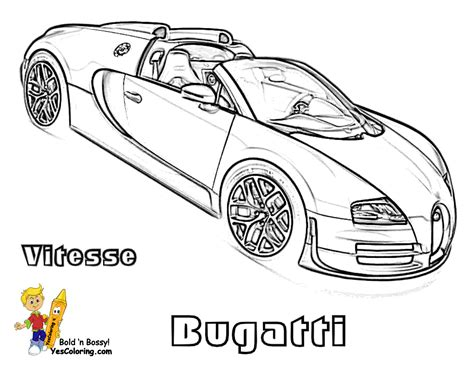 Super Fast Cars Coloring Fast Cars Free Bugatti