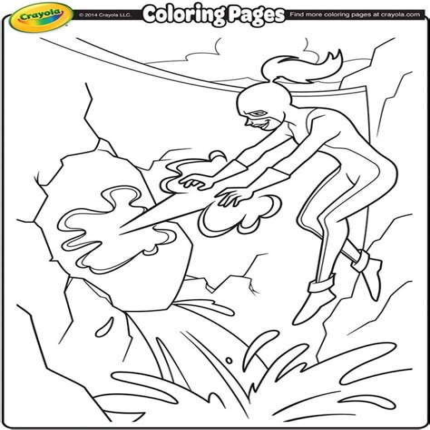 Super Hero Girl crayola