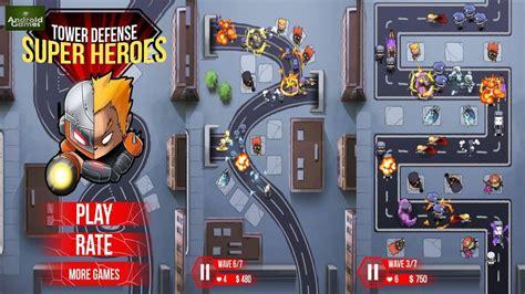 Super Heroes Tower Defense Hero Games World Be a Hero