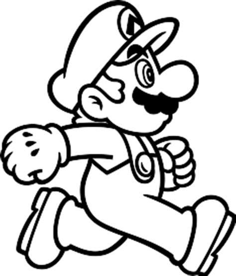 Super Mario Run and Luigi Coloring Pages Online Coloring