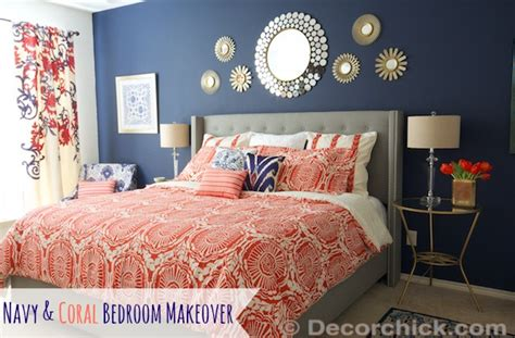 Surprise I Redid Our Master Bedroom Again Navy and