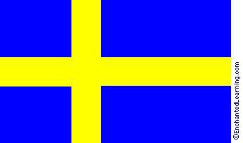 Sweden s Flag EnchantedLearning