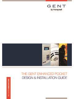 THE GENT ENHANCED POCKET DESIGN INSTALLATION GUIDE
