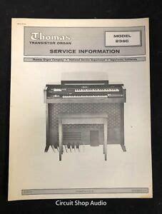 THOMAS PARTS CATALOG Organ Service Corporation