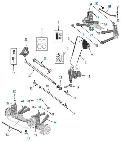 2007 jeep wrangler suspension diagram 2007 wiring images diagram jeep wrangler suspension diagram 2007 wiring tj wrangler suspension and steering 4 wheel parts