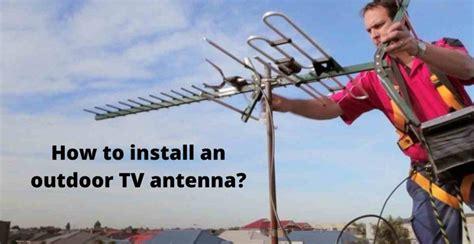 TV Antenna Installation Guidelines