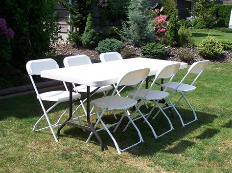 Table and Chair Rental Sacramento Party Rentals