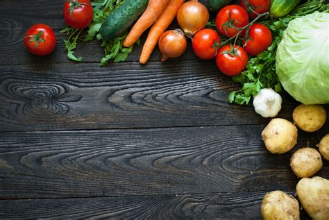 Table with vegetables Photo Free Download