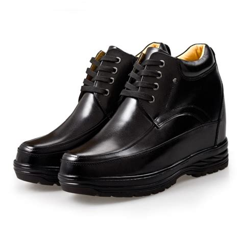 Tall Men Shoes Height Increasing Elevator Shoes for Man