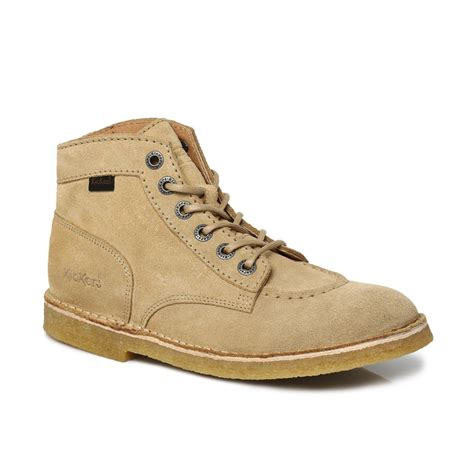 Tan Beige Mens Boots shoes