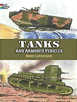Tanks and Armored Vehicles Dover Coloring Book Bruce