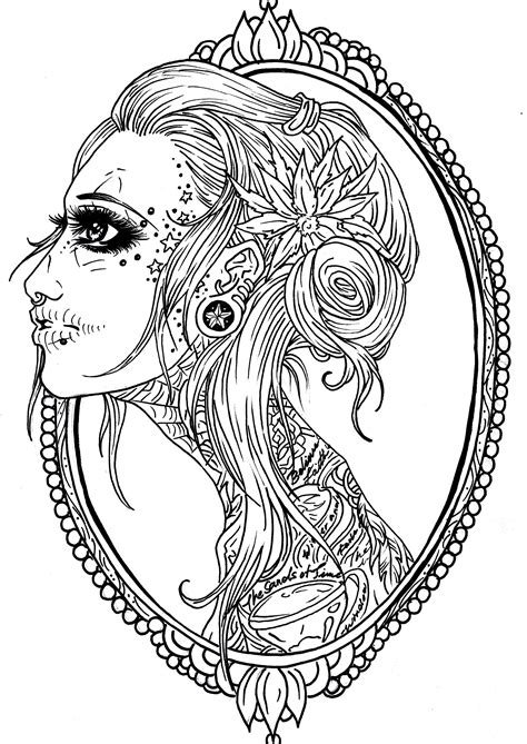 Tattoo Coloring Pages fablesfromthefriends