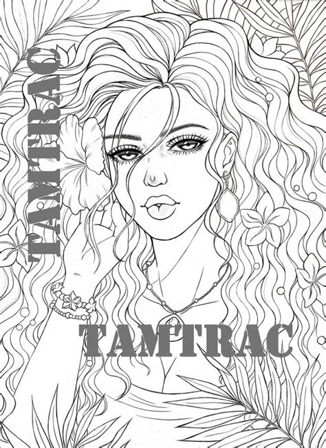 Tattoo coloring page Etsy